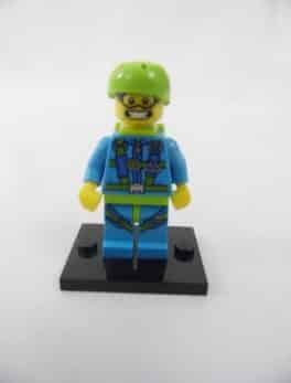 Mini figurine Lego N° 71001 - Série 10 - N°06 - Le Parachutiste