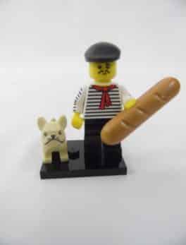 Mini figurine Lego N° 71018 - Série 17 - N°09 - Le Connaisseur