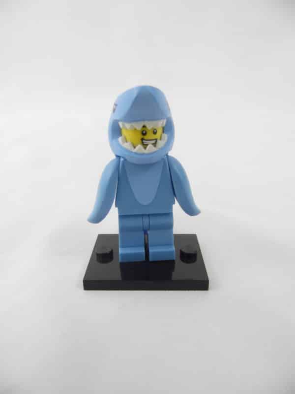 Mini figurine Lego N° 71011 - Série 15 - N°13 - L'Homme Requin