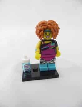 Mini figurine Lego N° 71018 - Série 17 - N°14 - La prof de danse