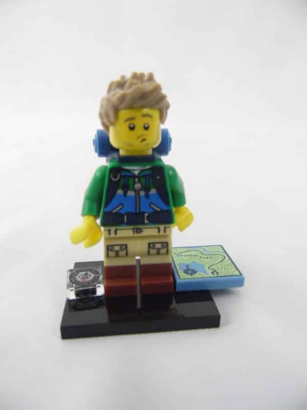Mini figurine Lego N° 71013 - Série 16 - N°06 - Le randonneur