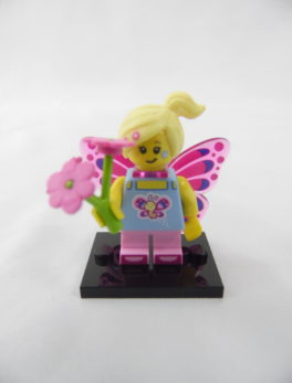 Mini figurine Lego N° 71018 - Série 17 - N°07 - La fille Papillon