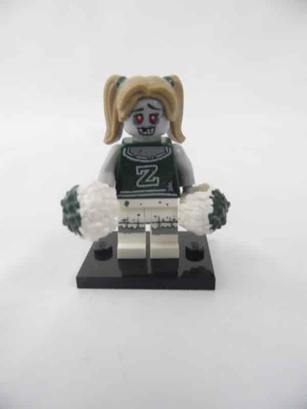 Mini figurine Lego N° 71010 - Série 14 - N°08 - La Pom-Pom Girl Zombie