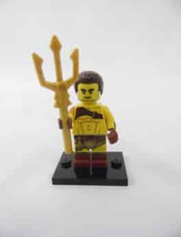 Mini figurine Lego N° 71018 - Série 17 - N°08 - Le gladiateur Romain
