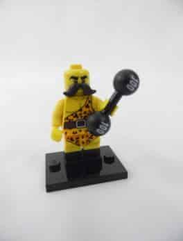 Mini figurine Lego N° 71018 - Série 17 - N°02 - L'Homme fort du cirque
