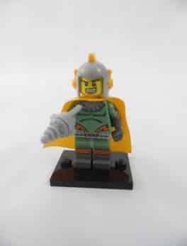 Mini figurine Lego N° 71018 - Série 17 - N°11 - Spaceman rétro