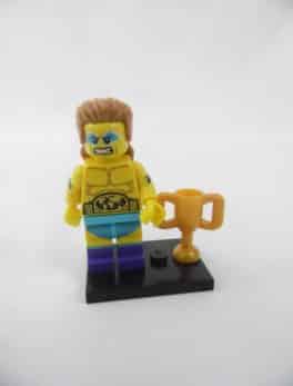 Mini figurine Lego N° 71011 - Série 15 - N°14 - Le champion de lutte