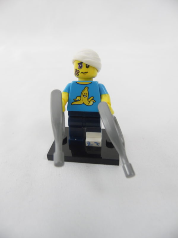 Mini figurine Lego N° 71011 - Série 15 - N°04 - L'homme maladroit