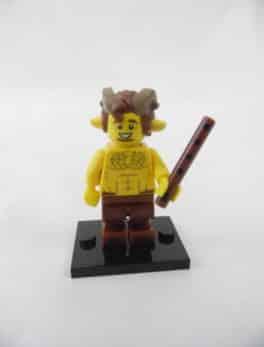Mini figurine Lego N° 71011 - Série 15 - N°07 - Le Faune