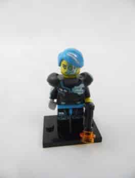 Mini figurine Lego N° 71013 - Série 16 - N°03 - Le Cyborg