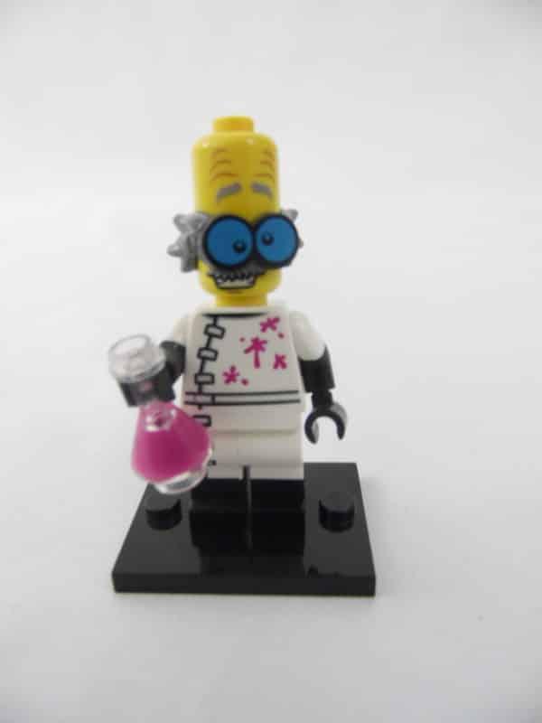 Mini figurine Lego N° 71010 - Série 14 - N°03 - Le Monstre Scientifique