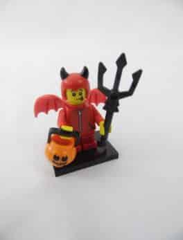 Mini figurine Lego N° 71013 - Série 16 - N°04 - Le minion petit Diable