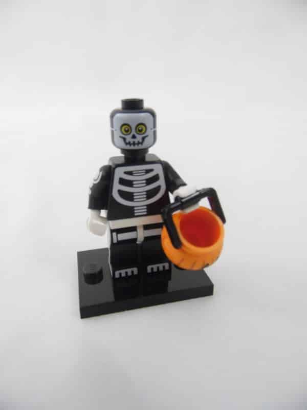 Mini figurine Lego N° 71010 - Série 14 - N°11 - L'Homme Squelette