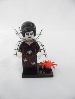 Mini figurine Lego N° 71010 - Série 14 - N°16 - La femme araignée
