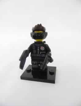 Mini figurine Lego N° 71013 - Série 16 - N°14 - L'espion