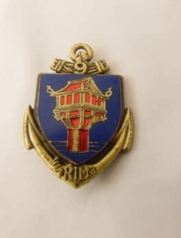 Insigne Militaire Français - 9° RIMA