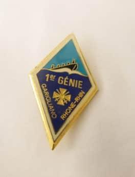 Insigne Militaire Français - 1 er Régiment du Génie