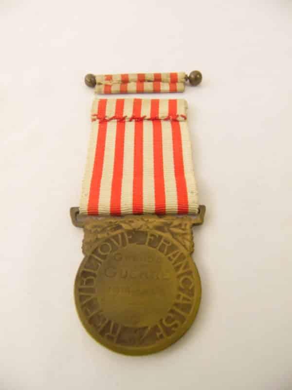 Médaille Commémorative Grande guerre 14/18