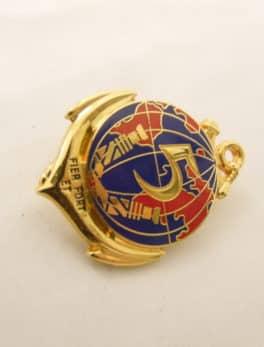 Insigne Militaire Français 5° R.I.A.O.M.- Régiment Inter Armée d'Outre Mer