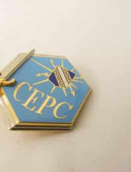 Insigne Militaire Français - Régiment C.E.P.C. - Centre d'Entraînement Poste de Commandement