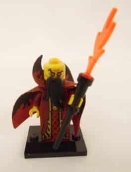 Mini figurine Lego N° 71008 - Série 13 - N°10 - Le Magicien Maléfique
