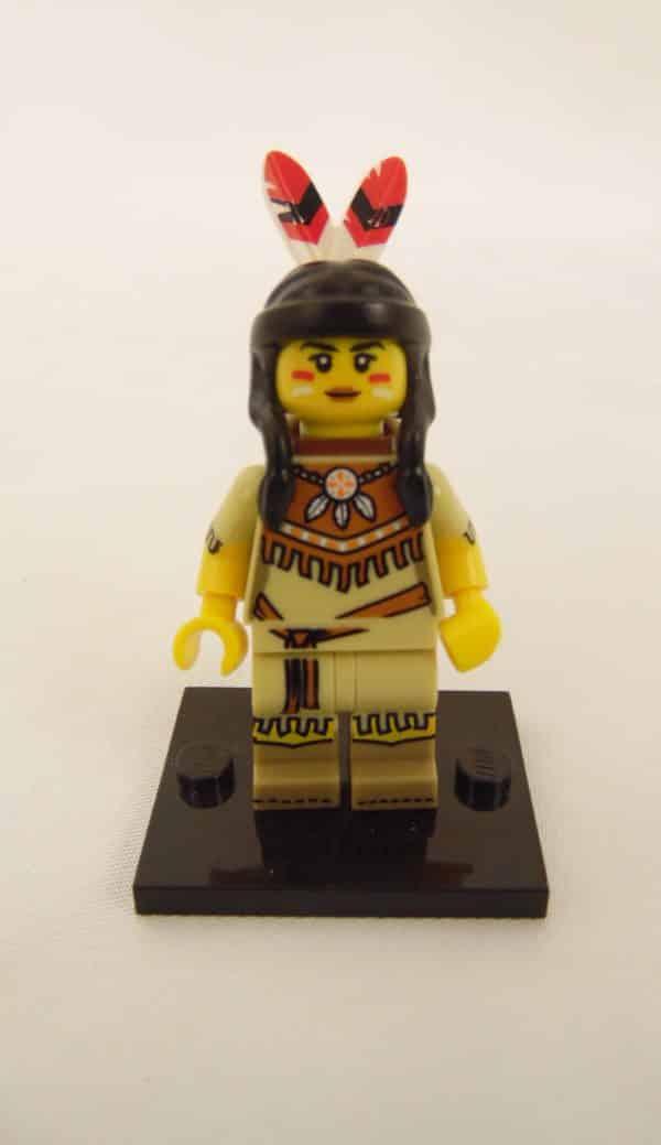 Mini figurine Lego N° 71011 - Série 15 - N°05 - Tribal Woman
