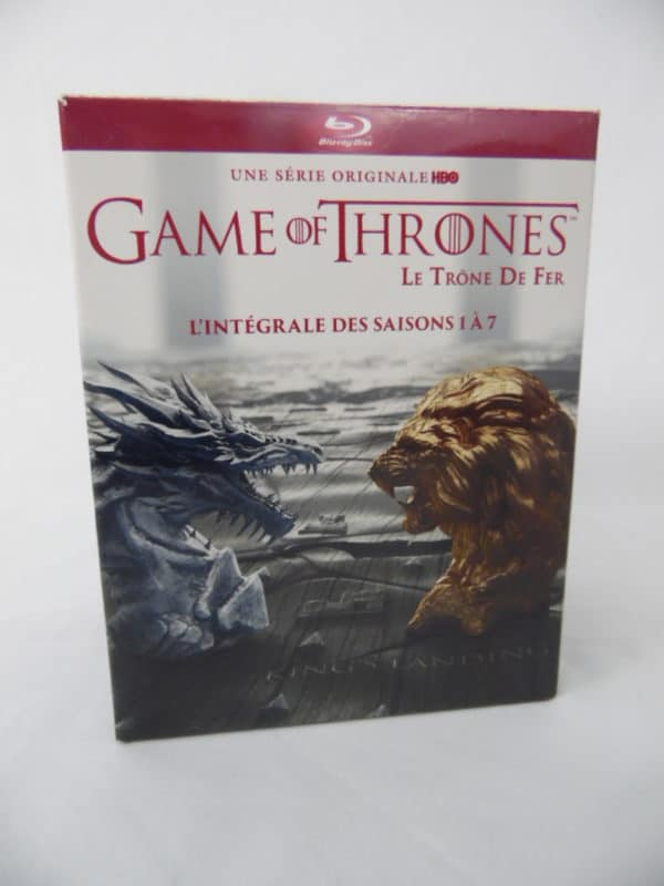 Coffret 7 Blu-ray Games of Thrones - L'intégrale saison 1 à 7