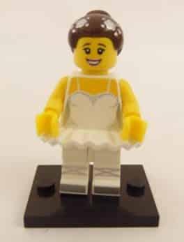 Mini figurine Lego N° 71011 - Série 15 - N°10 La Ballerine