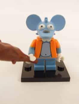 Mini figurine Lego N° 71005 - Les Simpson série 1 - N° 13 Itchy