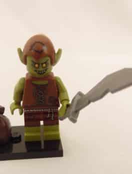 Mini figurine Lego N° 71008 - Série 13 - N°05 Le gobelin