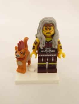Mini figurine Lego N° 71023 - Lego Movie 2 - N°6 Sherry Griffoir-Poste et Scarfield