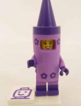 Mini figurine Lego N° 71023 - Lego Movie 2 - N°5 La fille crayon