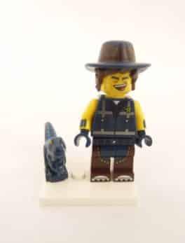 Mini figurine Lego N° 71023 - Lego Movie 2 - N°14 L'homme et T-Rex