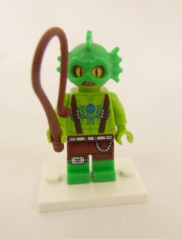 Mini figurine Lego N° 71023 - Lego Movie 2 - N°10 La créature des Marais