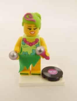 Mini figurine Lego N° 71023 - Lego Movie 2 - N°7 Hula Lula