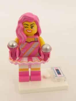 Mini figurine Lego N° 71023 - Lego Movie 2 - N°11 Candy Rapper