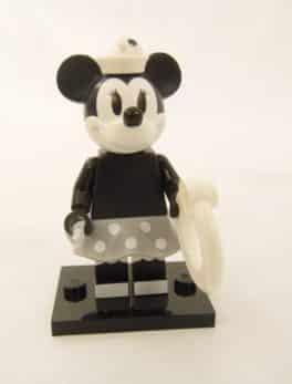Mini figurine Lego N° 71024 - Série 2 Disney - N°2 Minnie Vintage