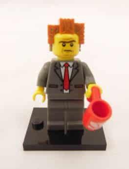Mini figurine Lego N° 71004 - N°1 - Président Business