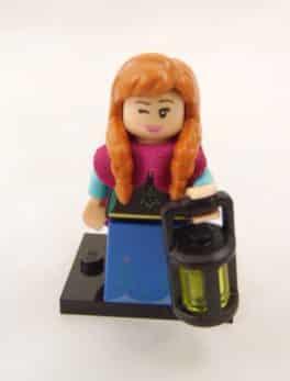 Mini figurine Lego N° 71024 - Série 2 Disney - N°10 Anna