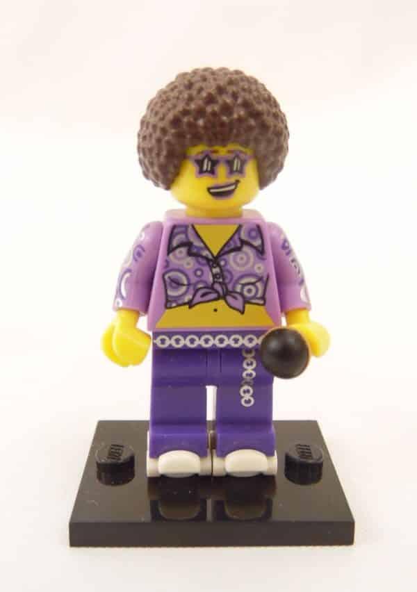 Mini figurine Lego N° 71008 - Série 13 - N°13 la diva du Disco