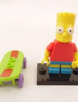 Mini figurine Lego N° 71005 - Les Simpson série 1 - N° 2 Bart