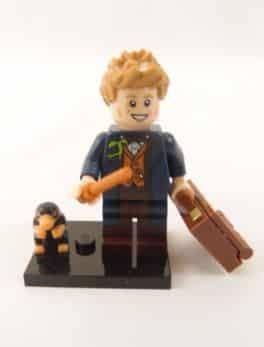 Mini figurine Lego N° 71 022 - Harry Potter - N°17 Newt Scamander