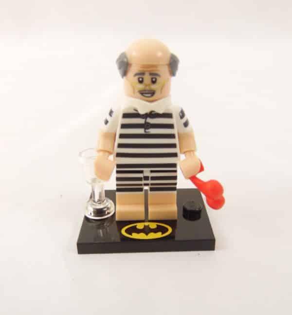 Mini figurine Lego N° 71 020 - Batman Série 2 - N°10 Vacance d'Alfred