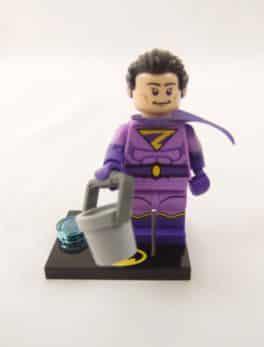 Mini figurine Lego N° 71 020 - Batman Série 2 - N°14 Wonder Twin ( Zan )