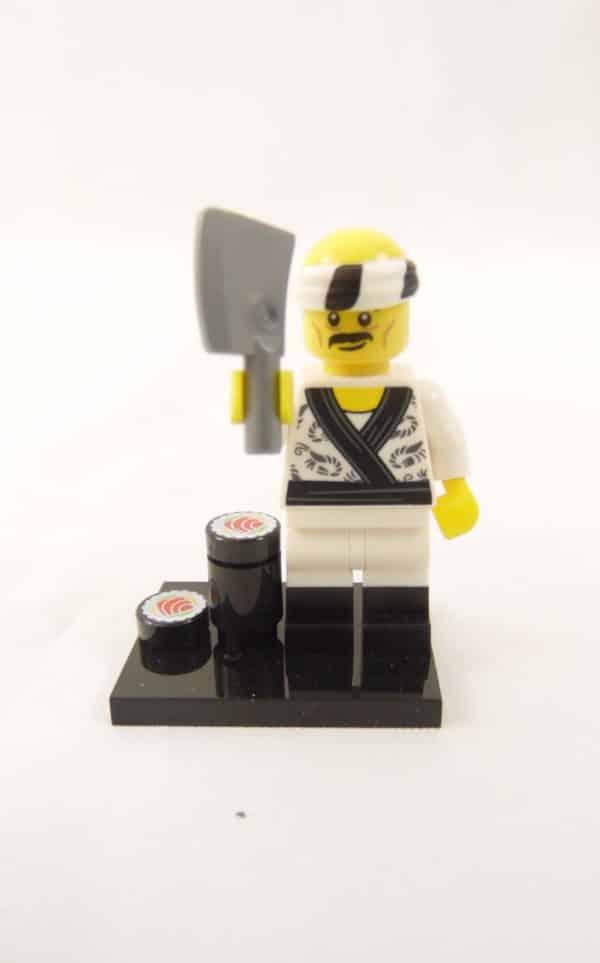 Mini figurine Lego N° 71019 - Ninjago Movie série 1 - N°19 Chef Sushi