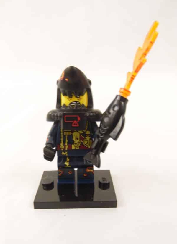 Mini figurine Lego N° 71019 - Ninjago Movie série 1 - N°14 Bandit requin blanc