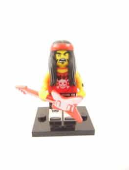 Mini figurine Lego N° 71019 - Ninjago Movie série 1 - N°17 Rockeur