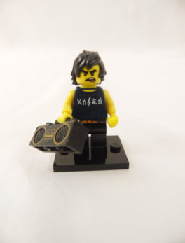 Mini figurine Lego N° 71019 - Ninjago Movie série 1 - N°8 Cole