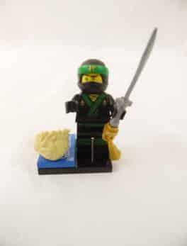 Mini figurine Lego N° 71019 - Ninjago Movie série 1 - N°3 Lloyd