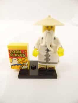 Mini figurine Lego N° 71019 - Ninjago Movie série 1 - N°4 Maître Wu